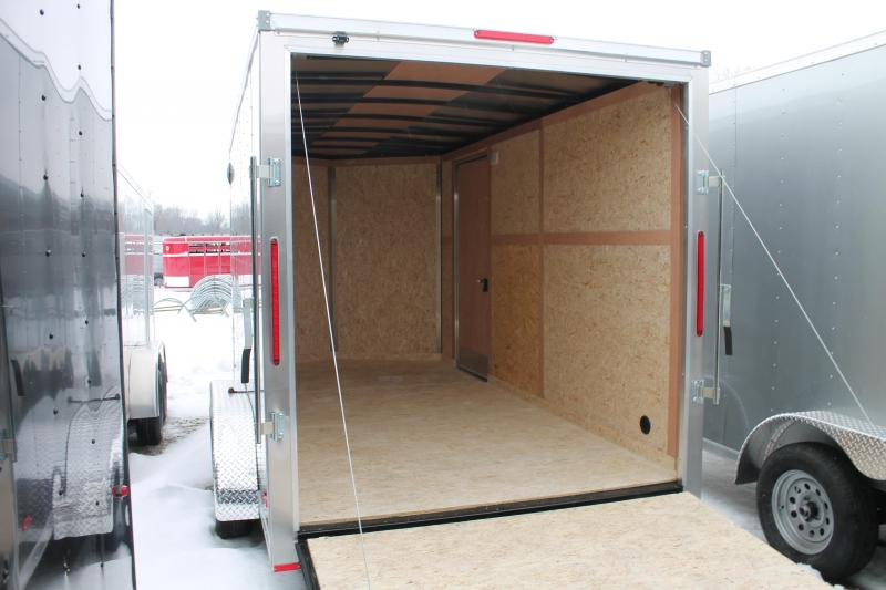 "2021 RC Trailers 7' X 14' + 12"" RD Enclosed Cargo Trailer"