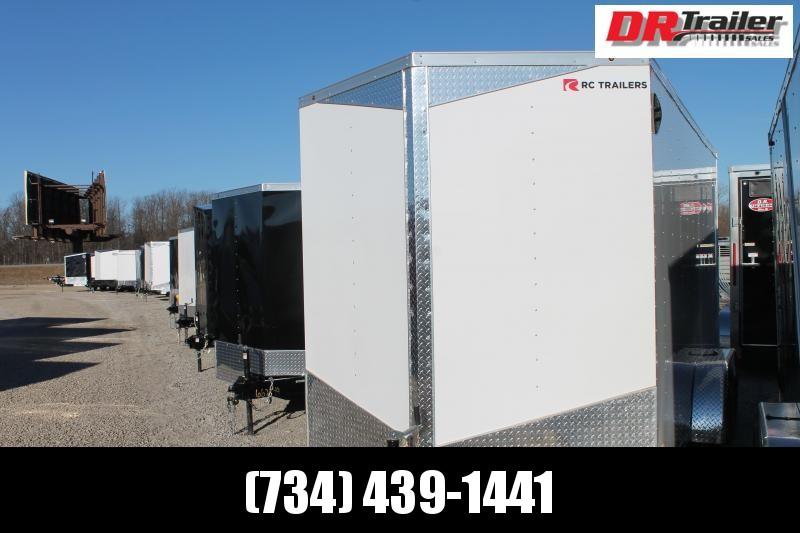 2021 RC Trailers 7' X 14' RD DLX Enclosed Cargo Trailer