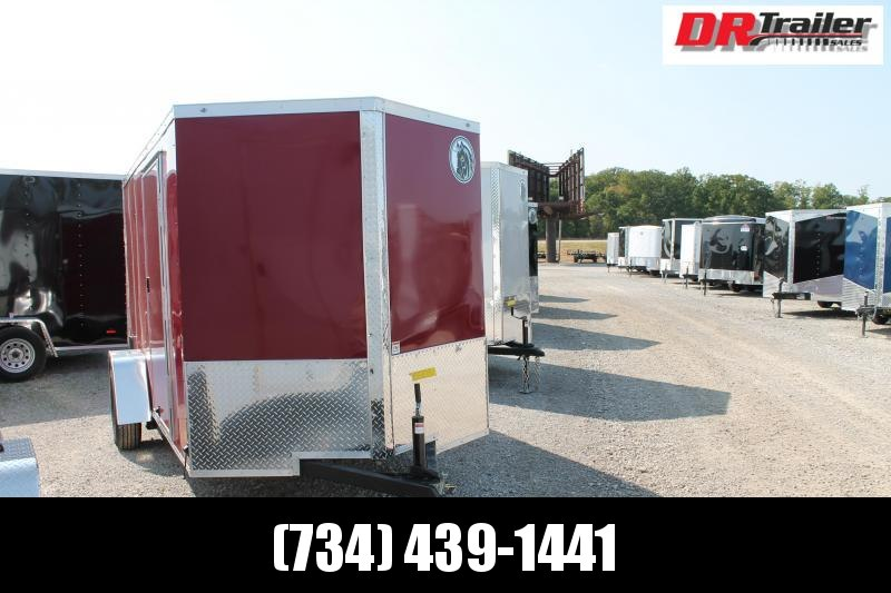 2021 Darkhorse Cargo 6' X 12' RD Enclosed Cargo Trailer