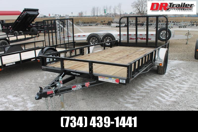 2021 PJ Trailers 14' RG ATV Equipment Trailer