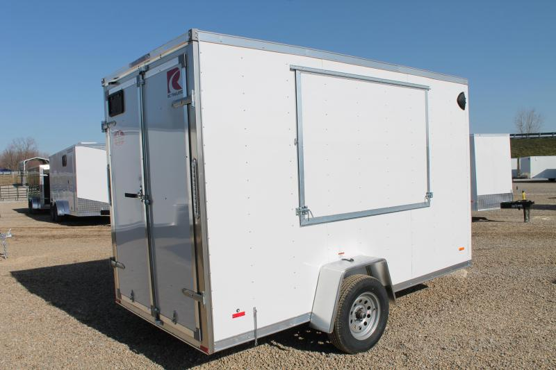 2021 RC Trailers 6' X 12' DD Enclosed Cargo Trailer