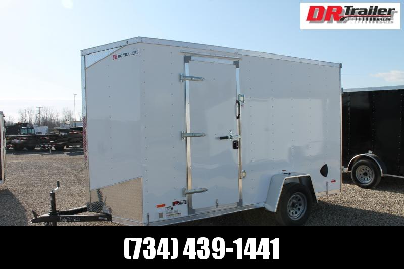 2021 RC Trailers 6' X 12' DD Enclosed Cargo Trailer