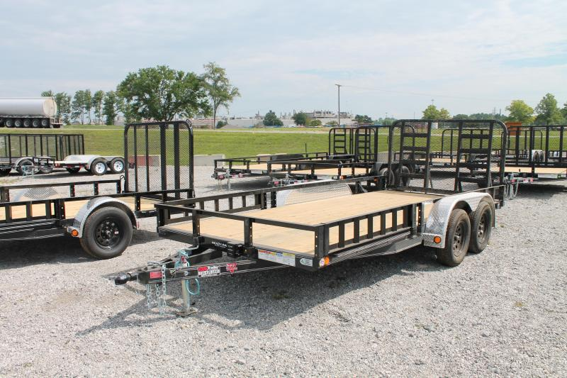 2021 PJ Trailers 16' RG ATV Equipment Trailer