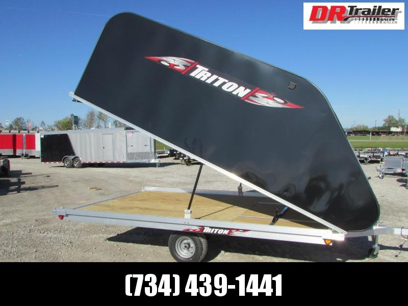 Triton Trailers XT 12 Tlt Style Snowmobile Trailer