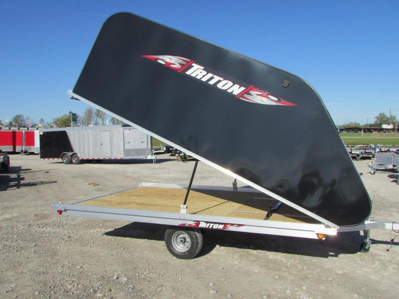 Triton Trailers XT 12 Tlt Style Snowmobile Trailer