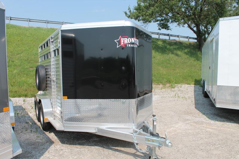 2021 Frontier 12' 7K GVWR STOCK TRAILER Livestock Trailer