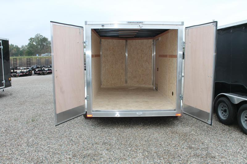 2022 RC Trailers 7' X 12' D TA ENCLOSED TRAILER Enclosed Cargo Trailer