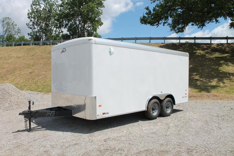 2020 American Hauler 8' X 16' 10K RD Enclosed Cargo Trailer