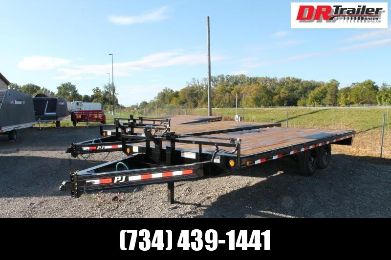 2021 PJ Trailers 20' DO SR Flatbed Trailer