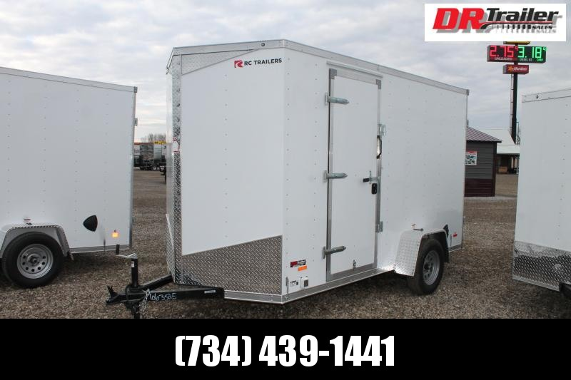 2021 RC Trailers 6' X 12' CONCESSION TRAILER Enclosed Cargo Trailer