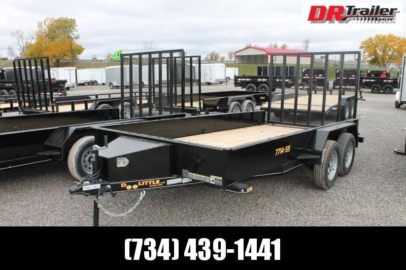 2021 DooLitttle Trailers 14' RG 7K Equipment Trailer