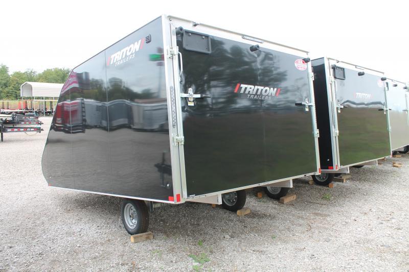 2022 Triton Trailers TC 128 SNOW TRAILER Snowmobile Trailer