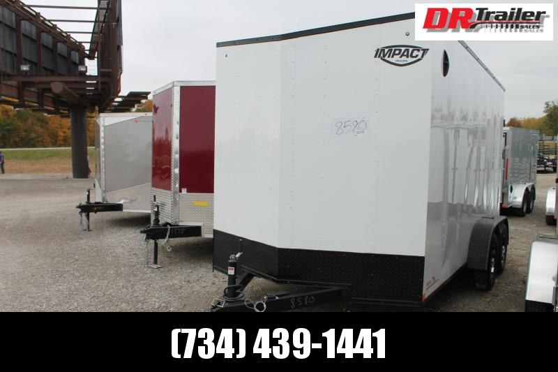 2021 Impact Trailers 7'X 14' RD Enclosed Cargo Trailer