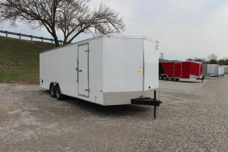 2021 RC Trailers 24' RD 7K TRAILER Enclosed Cargo Trailer