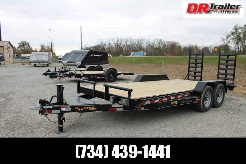 2021 DooLitttle Trailers 18' FR 14K Equipment Trailer
