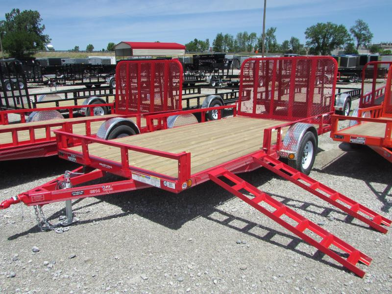 PJ Trailers 12 FT Landscape ATV Utility Trailer