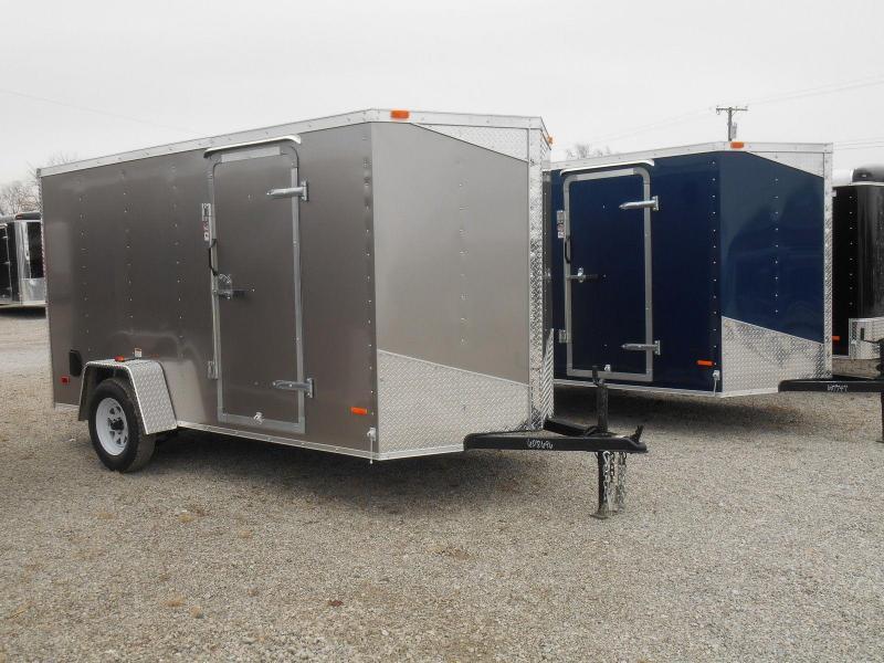 RC Trailers RWT 6X12 SA Enclosed Cargo Trailer