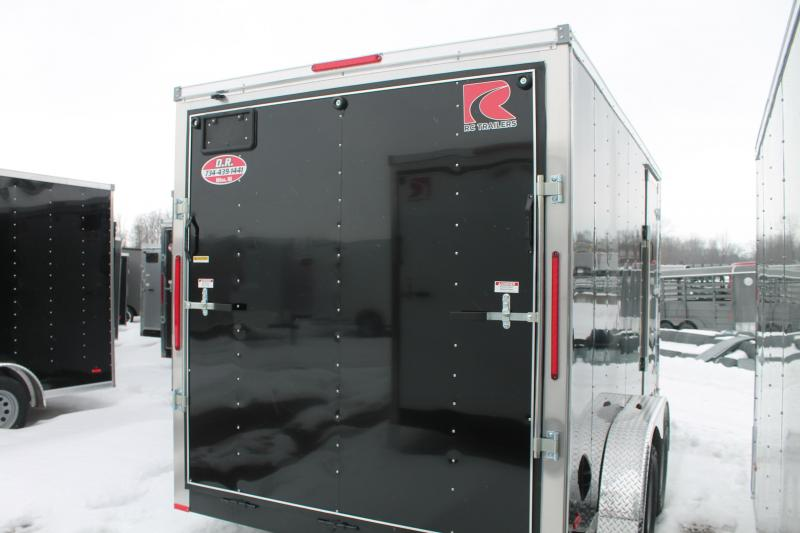 "2021 RC Trailers 7' X 14' + 12"" RD DLX Enclosed Cargo Trailer"