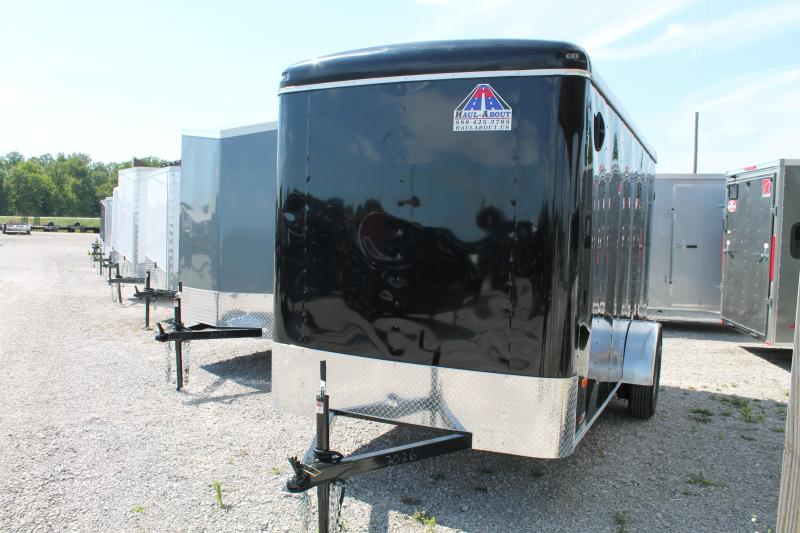 2020 Haul-About 6' X 12' RD Enclosed Cargo Trailer