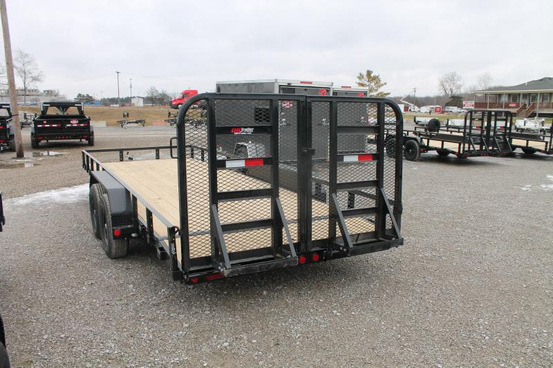 2021 PJ Trailers 20' RG 10K Equipment Trailer