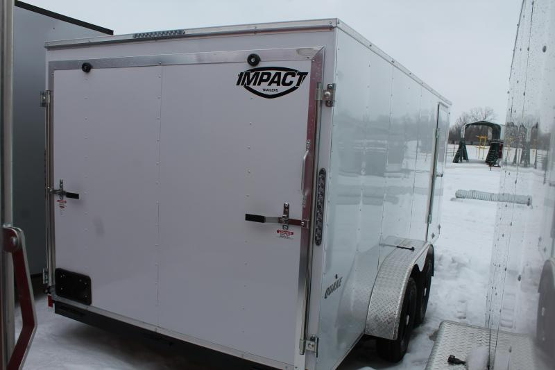 2022 Impact Trailers 7' X 16' RD Enclosed Cargo Trailer