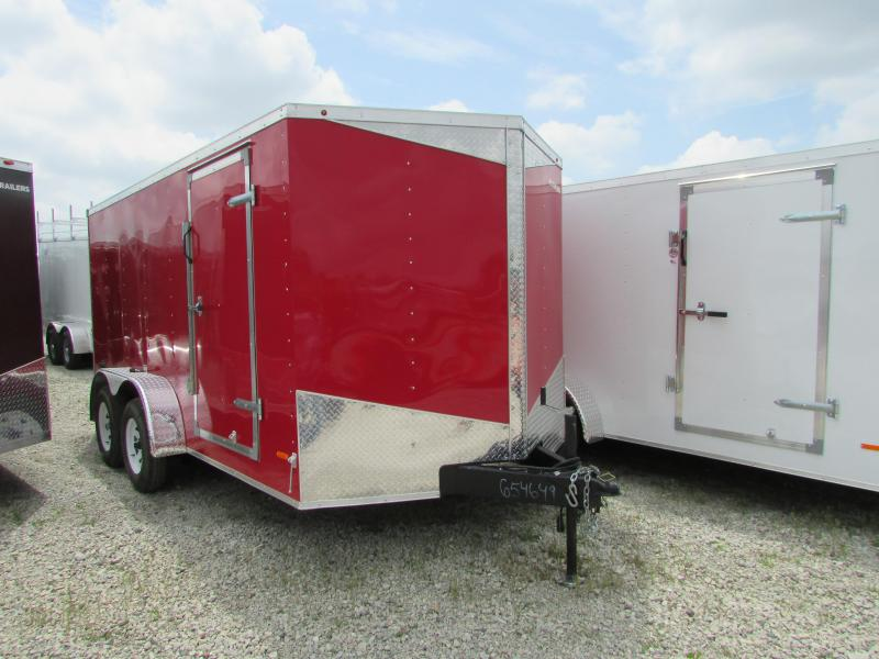 RC Trailers 7 x 14 Enclosed Cargo Trailer