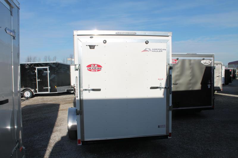 2021 American Hauler 6' X 12' RD Enclosed Cargo Trailer