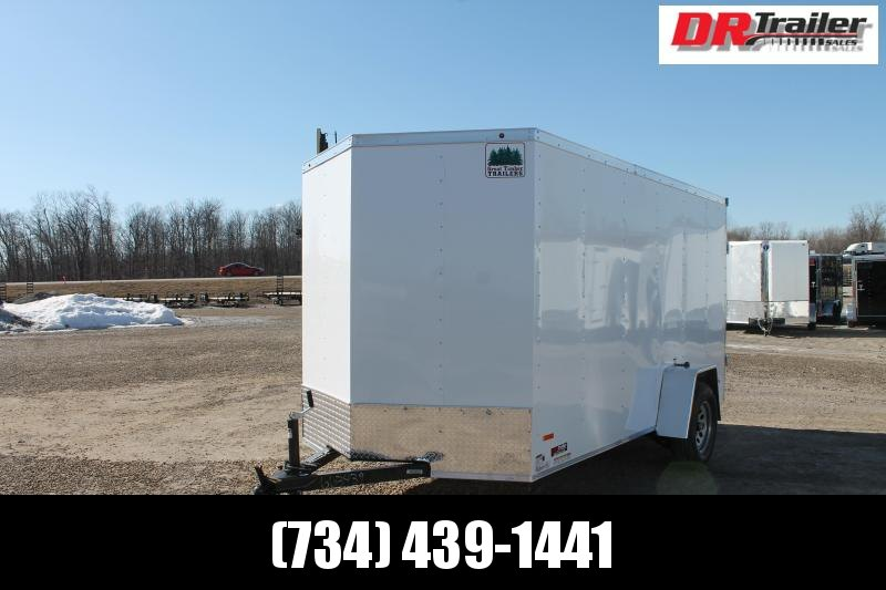2021 RC Trailers 6' X 12' RG RGT Enclosed Cargo Trailer