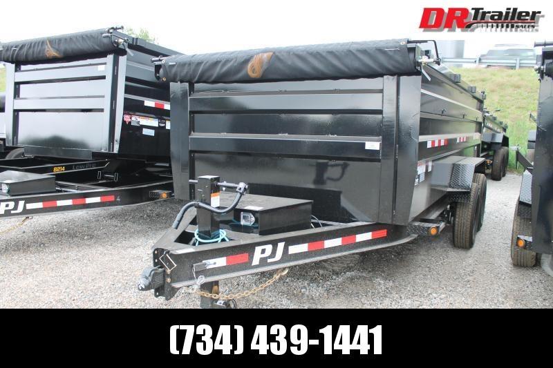 2022 PJ Trailers 16' DM 14K GVWR Dump Trailer