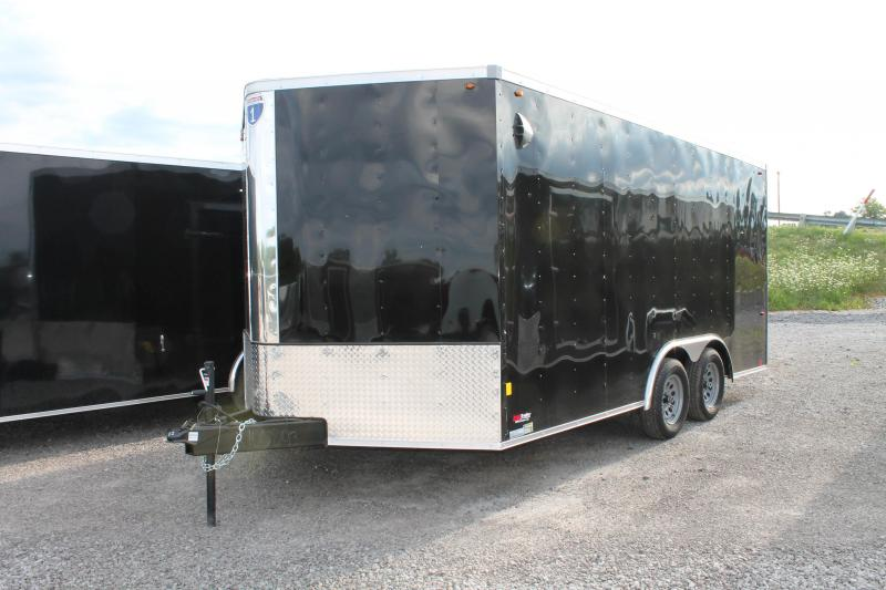 2021 Interstate 8.5' X 16' TA RD Enclosed Cargo Trailer
