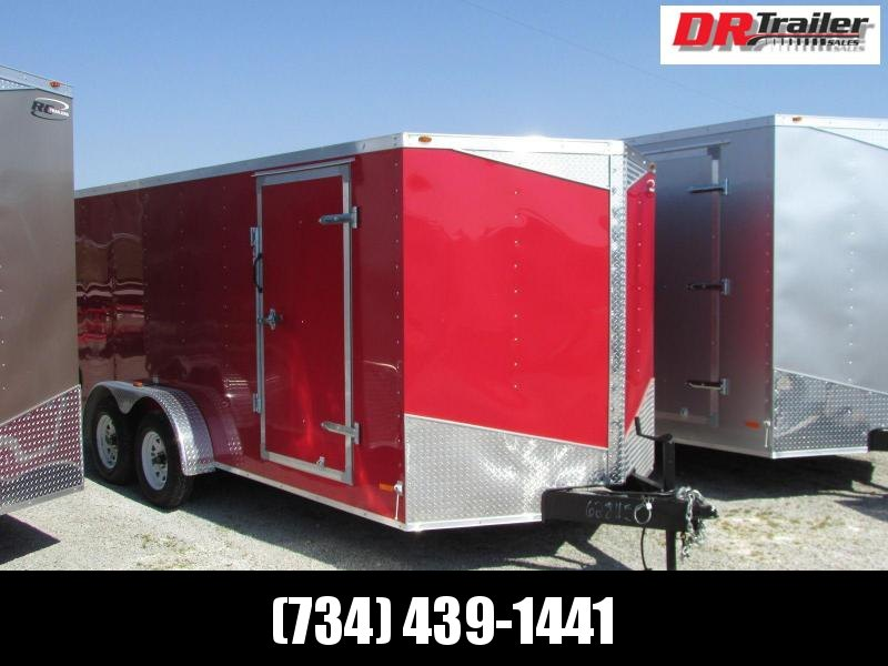 RC Trailers RWT7X16TA2 Enclosed Cargo Trailer