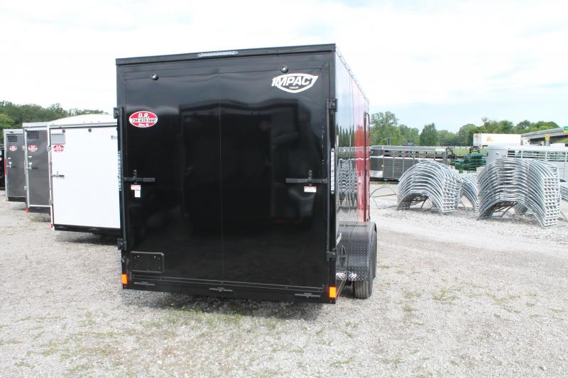 2021 Impact Trailers 7' X 16' TA RD Enclosed Cargo Trailer