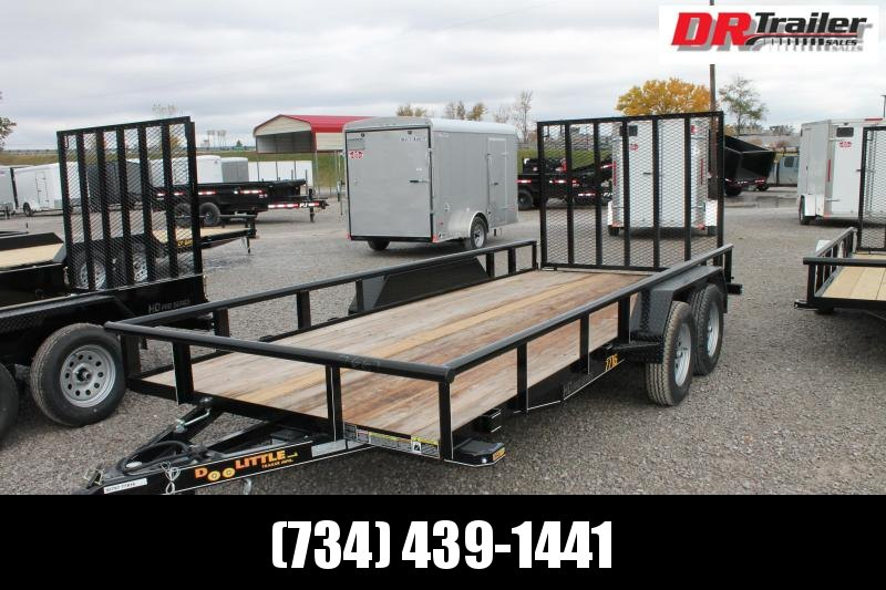 2021 DooLitttle Trailers 16' FR 7K Equipment Trailer