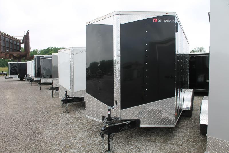 """2020 RC Trailers 7' X 16' + 12"""" RD Enclosed Cargo Trailer"""
