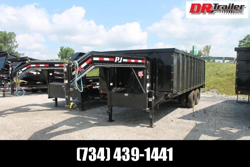 2022 PJ Trailers 20' DD 25K GVWR DUMP TRAILER Dump Trailer