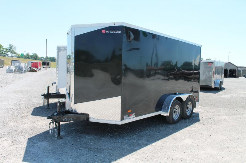 """2020 RC Trailers 7' X 14' + 6"""" RD Enclosed Cargo Trailer"""