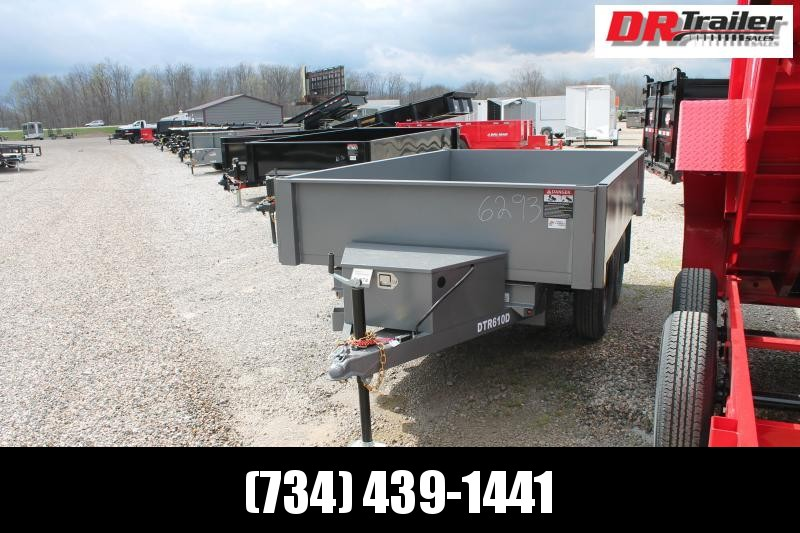 2021 Bri-Mar 6' X 10' DO TRAILER Dump Trailer