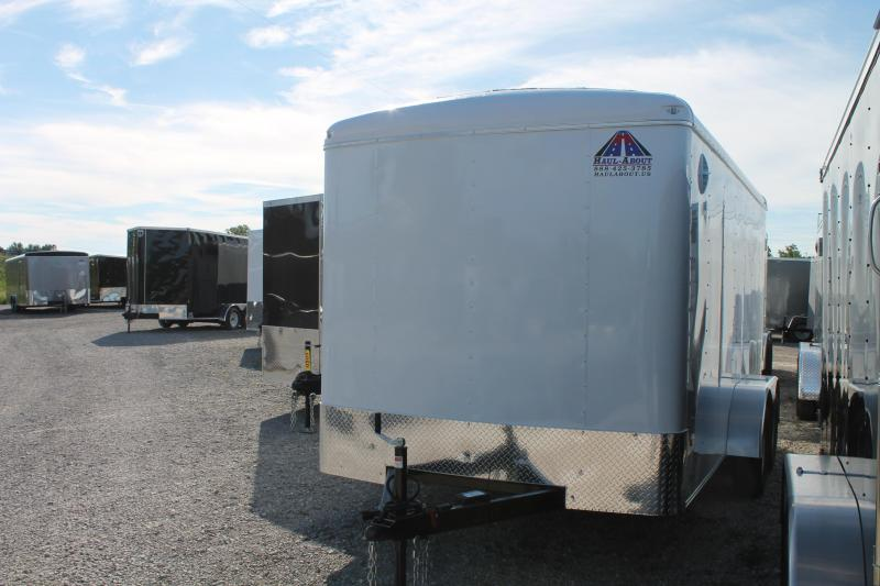 2020 Haul-About 7' X 14' TA RD Enclosed Cargo Trailer