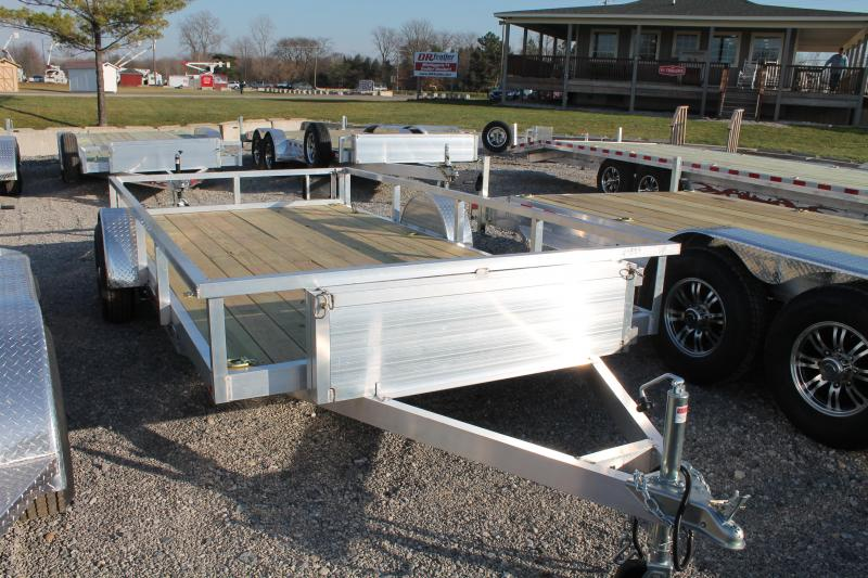 2021 Wolverine Trailers 7' X 14' Equipment Trailer