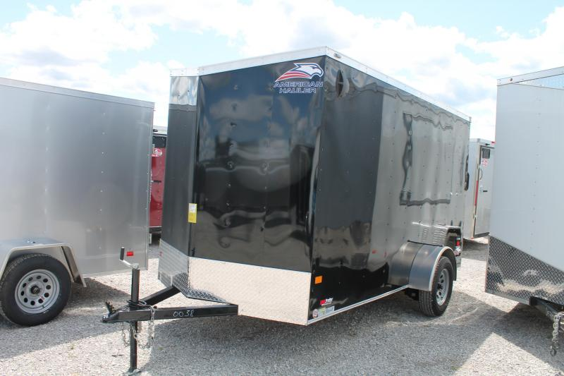 2021 American Hauler 6' X 12' RD Enclosed Cargo Trailer