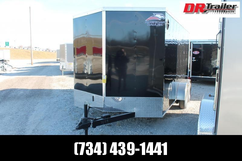 2021 American Hauler 7' X 14' RD Enclosed Cargo Trailer