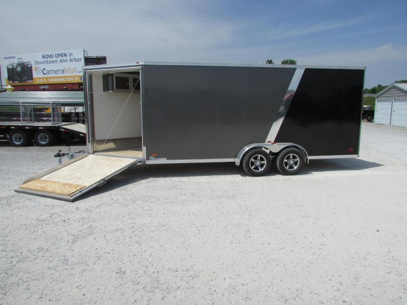 RC Trailers 7 x 23 Snowmobile UTV Enclosed Cargo Trailer
