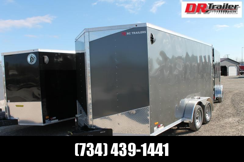 "2021 RC Trailers 7' X 14' + 6"" DD Enclosed Cargo Trailer"