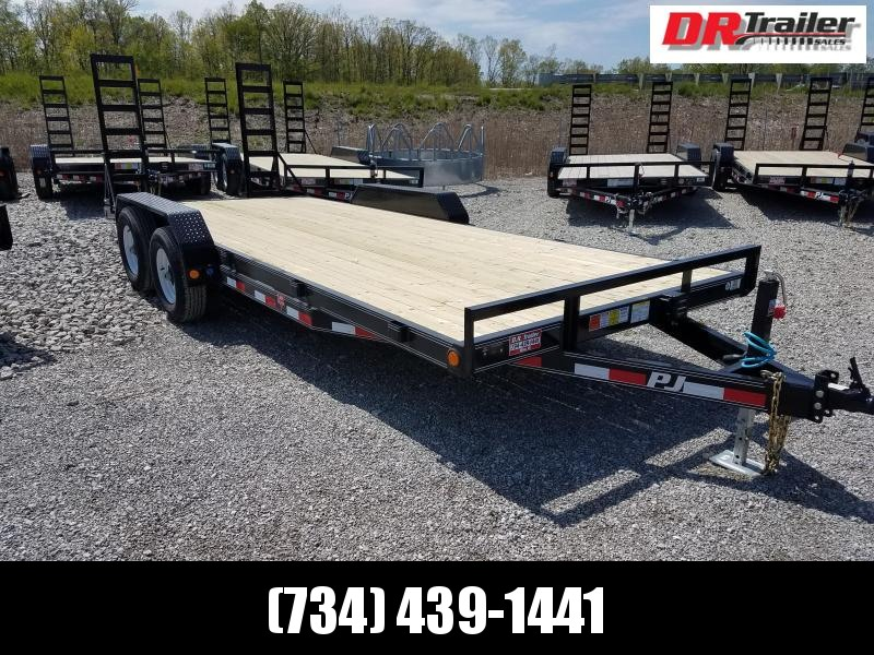 PJ Trailers 20 ft Equipment Trailer
