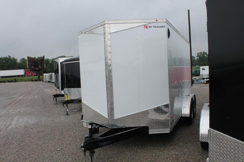 "2020 RC Trailers 7' X 14' + 7"" RD Enclosed Cargo Trailer"