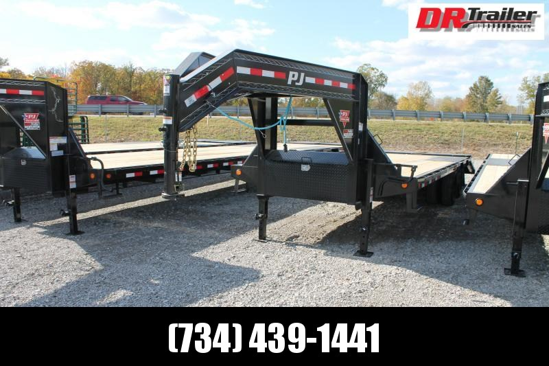 2021 PJ Trailers 25' MR 25K Flatbed Trailer