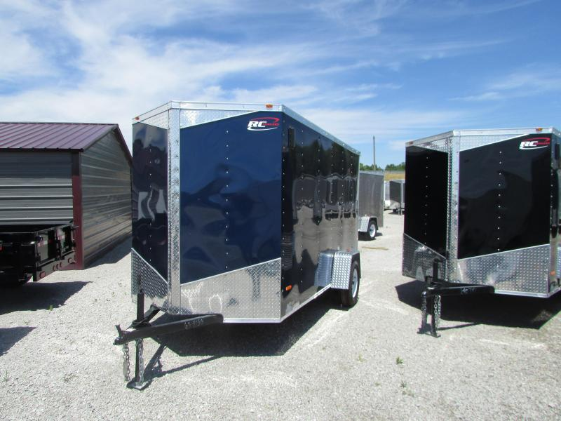 RC Trailers RWT6X12SA Enclosed Cargo Trailer