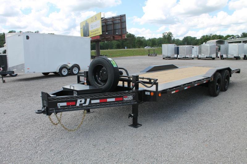 2021 PJ Trailers H7 22' SR 20K Flatbed Trailer