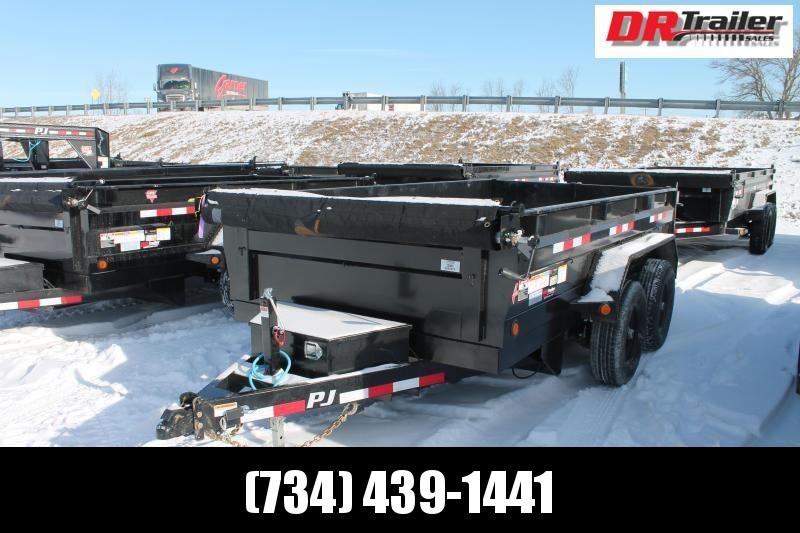2021 PJ Trailers 12' D3 10K Dump Trailer