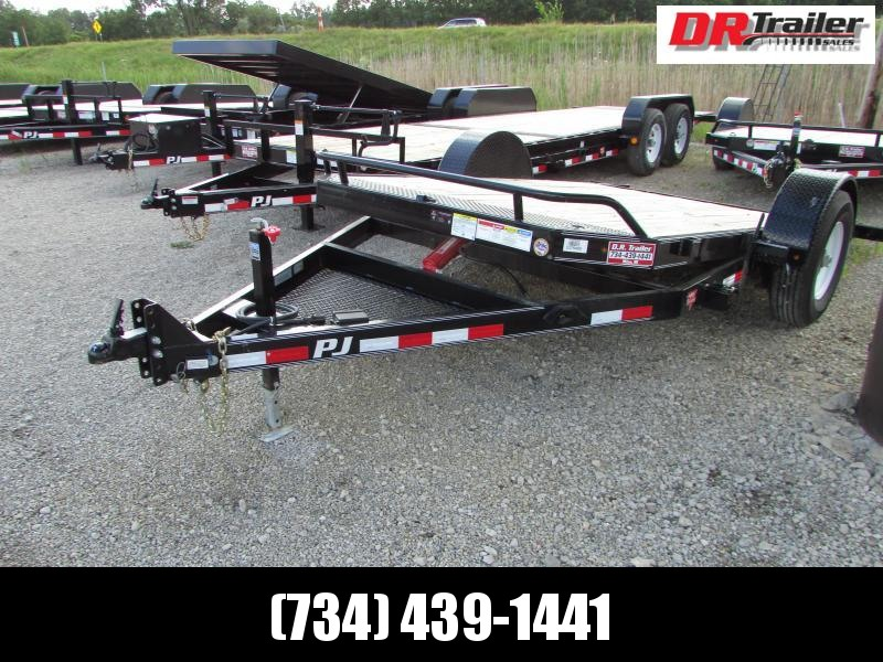 PJ Trailers 13ft Tilt Equipment Trailer